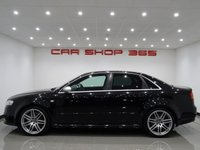 USED 2007 07 AUDI RS4 SALOON 4.2 V8 (420 BHP) RS4 QUATTRO 4dr..RECARO SPORT BUCKET SEATS LEATHER RECARO WING BACK BUCKETS+NAV+BOSE+CARBON TRIM
