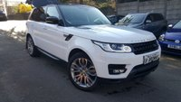 2014 LAND ROVER RANGE ROVER SPORT 3.0 SDV6 HSE DYNAMIC 5d AUTO  £37500.00