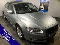 """USED 2015 15 VOLVO S80 2.0 D4 SE LUX 4d AUTO 178 BHP DAB Radio   :   Satellite Navigation   :   USB / AUX Sockets   :   Phone Bluetooth Connectivity Car Hotspot / WiFi   :   Heated Front Seats   :   Electric Driver Seat   :   Rear Parking Sensors 17"""" Alloy Wheels   :   2 Keys   :   Full Service History"""