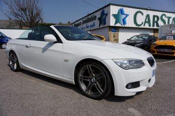 2012 BMW 3 SERIES 330D 3.0 M SPORT AUTO CONVERTIBLE 2DR ( LTHR & PRO NAV ) £12989.00
