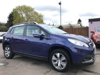USED 2013 63 PEUGEOT 2008 1.2 ACTIVE 5d 82 BHP WITH ALLOYS AND AIR CON NO DEPOSIT HP FINANCE ARRANGED , APPLY HERE NOW