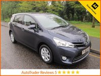 USED 2015 65 TOYOTA VERSO 1.6 VALVEMATIC ICON 5d 131 BHP Very Nice Lady Owned Low Mileage Toyota Verso with Seven Seats, Air Conditioning, Cruise Control, Alloy Wheels and Toyota Service History.
