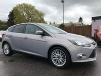 2012 FORD FOCUS 1.6 TDCI ZETEC 5d  WITH APPEARANCE PACK  £6000.00