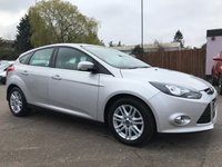 USED 2012 62 FORD FOCUS 1.6 TDCI TITANIUM 115 5d  WITH SERVICE HISTORY AND LOW ROAD TAX NO DEPOSIT HP FINANCE ARRANGED , APPLY HERE NOW