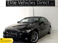 USED 2007 BMW 3 SERIES 3.0 335I M SPORT 2d 302 BHP