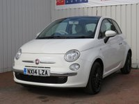 USED 2014 14 FIAT 500 1.2 LOUNGE 3d 69 BHP £30 PER YEAR ROAD TAX