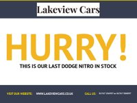 USED 2008 08 DODGE NITRO 2.8 SXT TD 5d AUTO 175 BHP