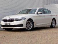 2018 BMW 5 SERIES 2.0 520D SE 4d AUTO 188 BHP £23949.00