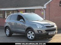 USED 2013 13 VAUXHALL ANTARA 2.2 CDTI DIAMOND (LEATHER+LOW MILES) 5dr GREAT SPECIFICATION AND LOW MILEAGE