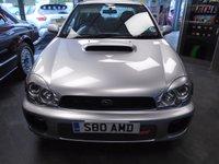 2001 SUBARU IMPREZA 2.0 WRX TURBO AWD 4d 218 BHP £6989.00