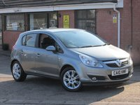 2010 VAUXHALL CORSA 1.4 SE AUTOMATIC--ONLY 7,000 MILES--ONE OWNER--FULL VAUXHALL SERVICE HISTORY--5dr £5990.00