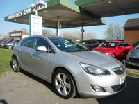 USED 2011 61 VAUXHALL ASTRA 1.6 SRI 5d 113 BHP 8 SERVICE STAMPS