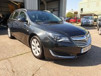 USED 2014 14 VAUXHALL INSIGNIA 2.0 TECH LINE CDTI ECOFLEX S/S 5d 138 BHP **£20 ROAD FUND**SUPERB CONDITION**GREAT DRIVE**
