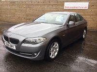 USED 2011 61 BMW 5 SERIES 2.0 520D SE 4d AUTO 181 BHP FULL LEATHER