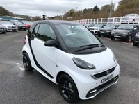 USED 2014 64 SMART FORTWO 1.0 GRANDSTYLE EDITION 2d AUTO 84 BHP White with Black Cell, Black leather, Sat Nav, Media, phone, heated seats & Sunroof ++