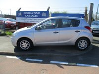 USED 2010 10 HYUNDAI I20 1.2 CLASSIC 5d 77 BHP 6 Stamps Of Service History .New MOT & Full Service Done on purchase + 2 Years FREE Mot & Service Included After . 3 Months Russell Ham Quality Warranty . All Car's Are HPI Clear . Finance Arranged - Credit Card's Accepted . for more cars www.russellham.co.uk  Spare Key + Owners Book Pack