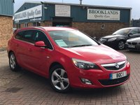 2012 VAUXHALL ASTRA 2.0 SRI CDTI S/S Estate Power Red 163 BHP £5495.00