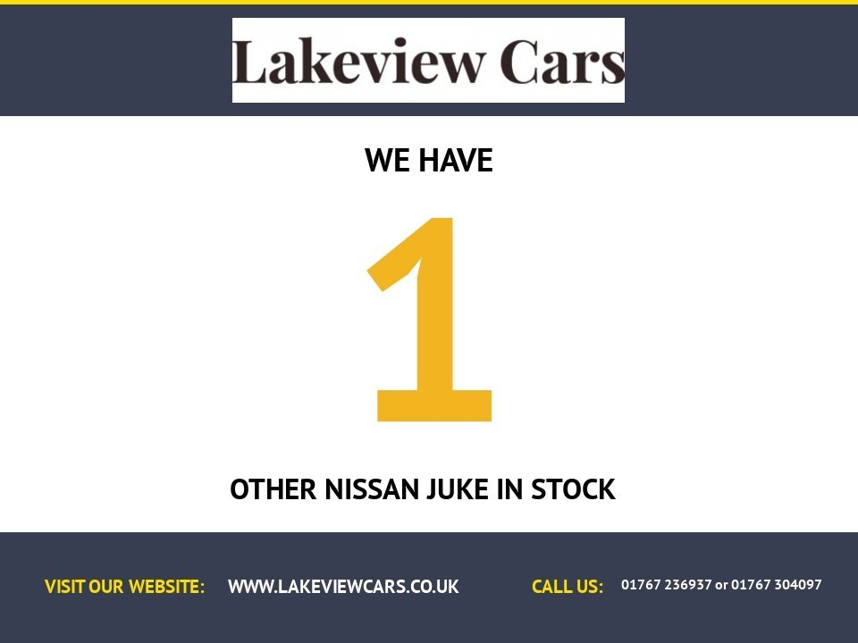 USED 2013 63 NISSAN JUKE 1.6 N-TEC 5d AUTO 115 BHP