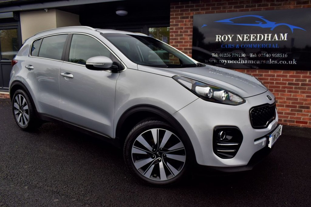 USED 2016 16 KIA SPORTAGE 1.7 CRDI 3 ISG 5DR 114 BHP *** REV CAMERA - SAT NAV - HEATED LEATHER***