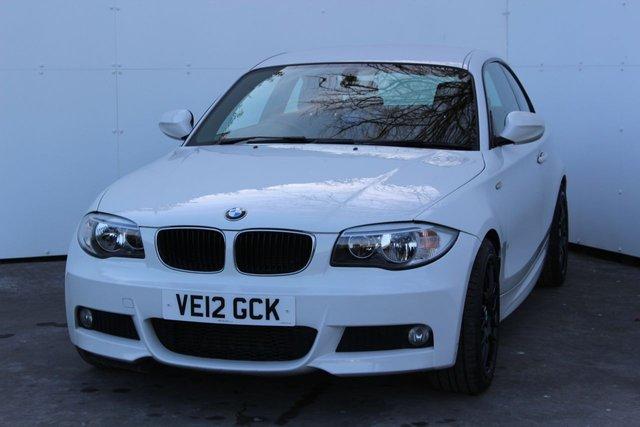 2012 12 BMW 1 SERIES 2.0 118D M SPORT 2d 141 BHP