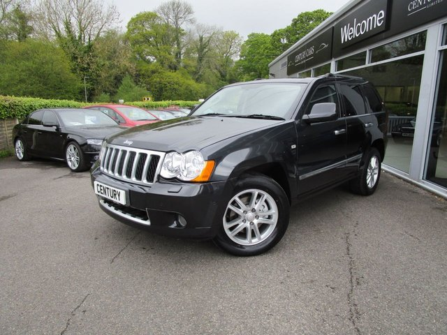 2010 10 JEEP GRAND CHEROKEE 3.0 V6 CRD OVERLAND TECH 5d AUTO 215 BHP