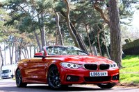 USED 2015 65 BMW 4 SERIES 428i  M SPORT CONVERTIBLE AUTO 245BHP