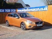 2011 VOLVO V60 2.0 D3 R-DESIGN 5d 161 BHP £6995.00