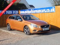 USED 2011 61 VOLVO V60 2.0 D3 R-DESIGN 5d 161 BHP FSH X 5 STAMPS, AIR CON