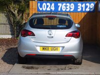 USED 2011 11 VAUXHALL ASTRA 1.6 SE 5d AUTO 113 BHP FSH, AIR CON, AUX