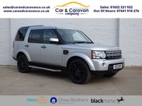 USED 2013 13 LAND ROVER DISCOVERY 3.0 4 SDV6 XS 5d AUTO 255 BHP All Dealer History Huge Spec Buy Now, Pay Later Finance!