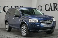 USED 2010 60 LAND ROVER FREELANDER 2.2 TD4 HSE 5d AUTO 159 BHP Black Full Leather Heated Electric Memory Seats, Satellite Navigation + Alpine Premium Sound + Bluetooth Connectivity, 19 Inch Graphite Grey Alloy Wheels, Twin Electric Sunroofs, Front and Rear Park Distance Control, Leather Multi Function Steering Wheel, Cruise Control, Dual Zone Climate Control, Automatic Headlights, Heated Electric Powerfold Mirrors, On-board Computer, Dark Wood Trim.