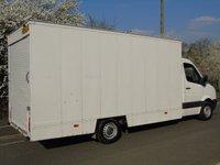 USED 2011 61 VOLKSWAGEN CRAFTER 2.0 CR35 TDI 107 BHP 15FT 6IN DROPWELL LUTON VAN + ROLLER SHUTTER+ DROPWELL+