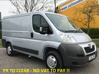 USED 2008 08 PEUGEOT BOXER 330 L1 H1 SWB 2.2 HDi 100 LOW ROOF VAN FWD [ NO VAT TO PAY ]