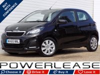 USED 2016 65 PEUGEOT 108 1.0 ACTIVE 5d 68 BHP FSH FREE ROAD TAX AIR CON