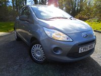 USED 2010 60 FORD KA 1.2 STUDIO 3d 69 BHP ** ONE OWNER FROM NEW , £30 ROAD TAX,  GROUP 3 INSURANCE , PERFECT FIRST CAR **