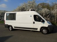 USED 2007 07 CITROEN RELAY 2.2HDI 35 L3H2 120BHP L3 H2 LWB FRIDGE/CHILLER /CATERING/SERVICE VAN SERVICE COUNTER+FRIDGE/CHILLER