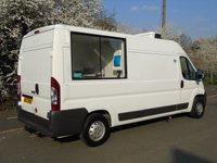 2007 CITROEN RELAY 2.2HDI 35 L3H2 120BHP L3 H2 LWB FRIDGE/CHILLER /CATERING/SERVICE VAN £6750.00