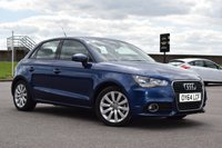 2014 AUDI A1 1.4 SPORTBACK TFSI SPORT 5d AUTO 122 BHP £10978.00
