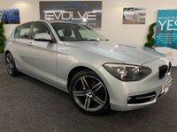 2014 BMW 1 SERIES 2.0 116D SPORT 5d AUTO 114 BHP £10790.00