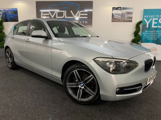 2014 14 BMW 1 SERIES 2.0 116D SPORT 5d AUTO 114 BHP