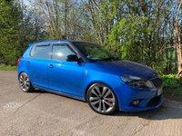 USED 2013 63 SKODA FABIA 1.4 VRS DSG 5d AUTO 180 BHP (Petrol) Racing Blue