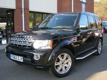 2012 LAND ROVER DISCOVERY 3.0 4 SDV6 GS 5d AUTO 255 BHP £18995.00