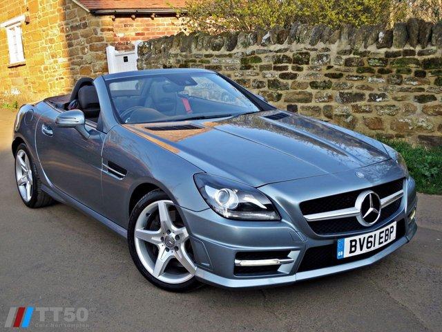 2011 61 MERCEDES-BENZ SLK 1.8 SLK200 BLUEEFFICIENCY AMG SPORT ED125 2d AUTO 184 BHP