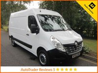 USED 2016 66 RENAULT MASTER 2.3 MM35 BUSINESS DCI S/R P/V 1d 125 BHP. *ULEZ COMPLIANT*AIR CON* Very Nice Medium Wheelbase High Roof Renault Master Van with Side Loading Door, Factory Fitted Bulkhead, Ply Lining, and Service History. This Vehicle is ULEZ Compliant