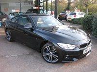 USED 2015 15 BMW 4 SERIES 3.0 430D XDRIVE M SPORT 2d AUTO 255 BHP