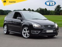 USED 2007 53 FORD FOCUS 2.5 ST-2 3d 225 BHP A well cared for Ford Focus ST-2 2.5 3dr in black with SAT NAV, PRIVACY GLASS, BIG ALLOYS, CLIMATE CONTROL +++. A classic car priced at just £5999.