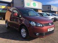 USED 2015 15 VOLKSWAGEN CADDY 1.6 C20 TDI HIGHLINE 1d 101 BHP FSH, A/C, ALLOYS, P/SENSORS, 6 MONTHS WARRANTY & FINANCE ARRANGED. ** NEW GENUINE VOLKSWAGEN CAMBELT & WATER PUMP FITTED** Full Volkswagen Service History, A/C, Parking Sensors, E/W, Bluetooth, Alloys, cruise control, Radio/CD, Drivers airbag, Factory fitted bulk head, side loading door, ply lined, Very Good Condition, 1 Owner, remote Central Locking, Drivers Airbag, CD Player/FM Radio, Steering Column Radio Control, Barn Rear Doors, spare key, finance arranged on site & 6 months warranty