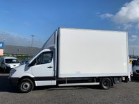 USED 2013 63 MERCEDES-BENZ SPRINTER 2.1 516 CDI LWB LUTON 163 BHP TWIN WHEEL CHASSIS 13FT 5 INCH EXTRA HIGH LUTON BOX, TAIL LIFT, ONE OWNER,