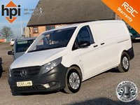 USED 2016 65 MERCEDES-BENZ VITO 1.6 111 CDI FACELIFT LONG LWB LWB, FACELIFT, 34K MILES, ONE OWNER, FULL DEALER HIST,