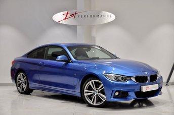 2013 BMW 4 SERIES 2.0 420D XDRIVE M SPORT 2d AUTO 181 BHP £15950.00